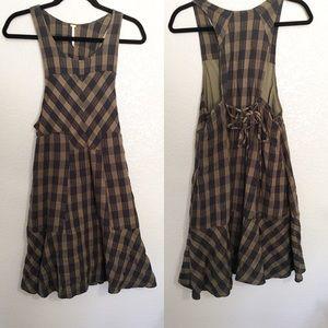 Free People | Flannel Dress